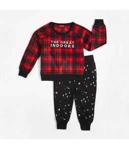 "Petit Lem Petit Lem ""The Great Indoors"" Pajama Set (2 pcs.)"