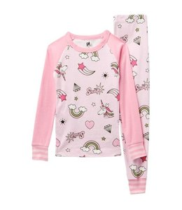 Petit Lem Petit Lem Sleeping Unicorn Pajama Set (2 pcs.) Size 10