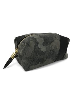 Kempton & Co. Camo Suede Cosmetic Case
