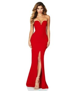 Nookie Nookie Honey Gown-Red
