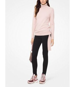 Michael Kors Michael Kors Side Tie Turtleneck-Rose
