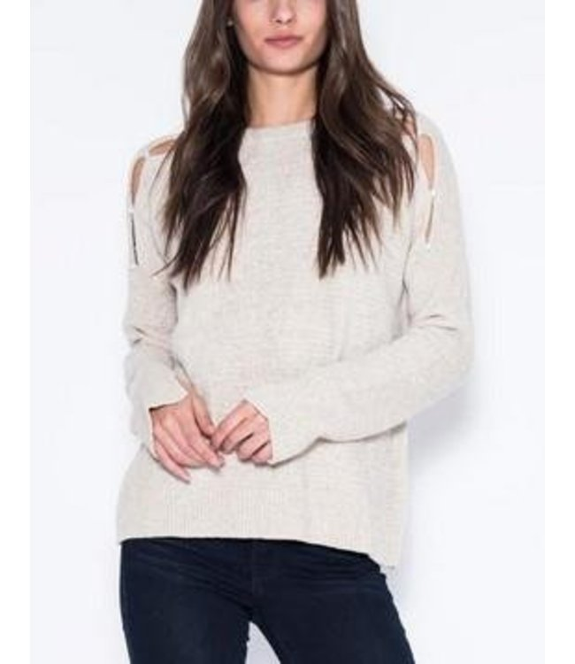 One Grey Day One Grey Day Sadie Pullover-Oatmeal