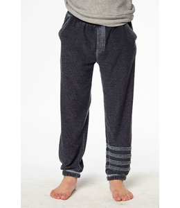 CHASER Chaser Cozy Knit Joggers-Navy Size 8