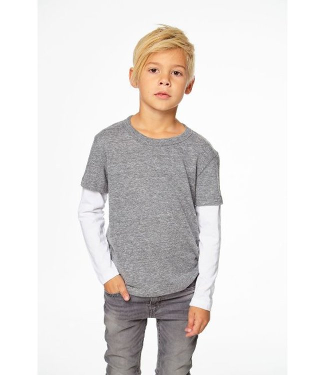 CHASER Chaser Boys Triblend Jersey Top