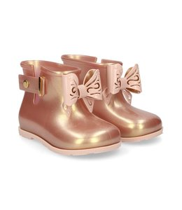 Mini Melissa Sugar Rain Boot- Pink