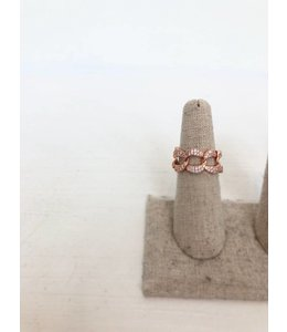 NYCS NYCS Chain Ring- Rose Gold