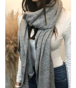 FINE Label Cashmere Travel Wraps- Grey