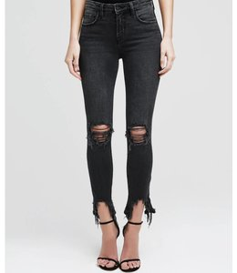 L'AGENCE L'AGENCE HighLine High Rise Skinny-Grey & Light Denim