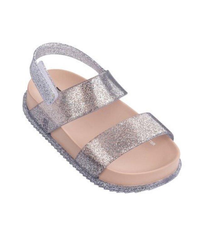 Mini Melissa Cosmic Sandal - Silver