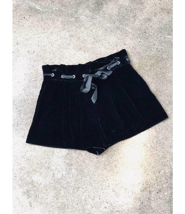 Parker Parker Vale Velvet Short-Black