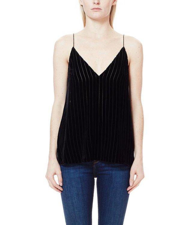 CAMI NYC CAMI NYC Olivia Velvet Stripe Size L