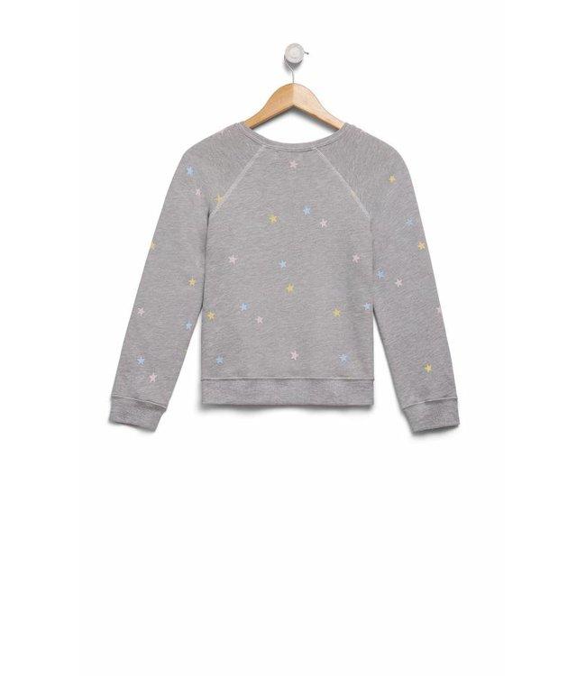 WILDFOX WILDFOX Starlet Sommers Sweatshirt-Grey