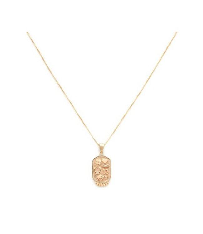 Melanie Auld Melanie Auld Fortune Necklace-Gold
