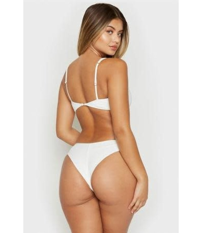 Frankies Bikinis Frankies Bikinis Alana Bottom-White