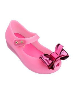 Mini Melissa Mini Melissa Ultragirl Celebrati Shoe-Pink/Red
