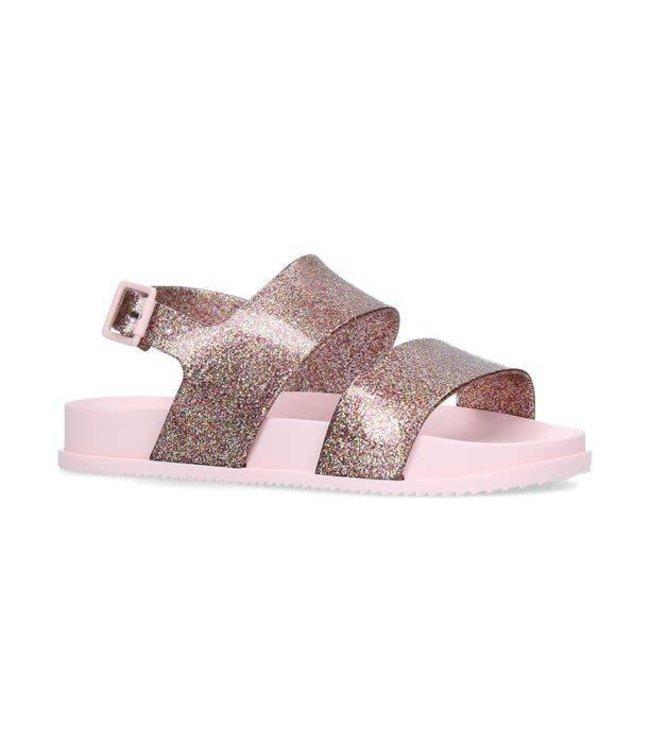 Mini Melissa Mini Melissa Cosmic Sandal-Pink Glitter