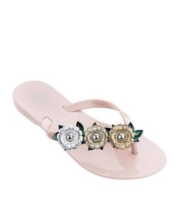 Mini Melissa Harmonic Garden Chrome Shoe