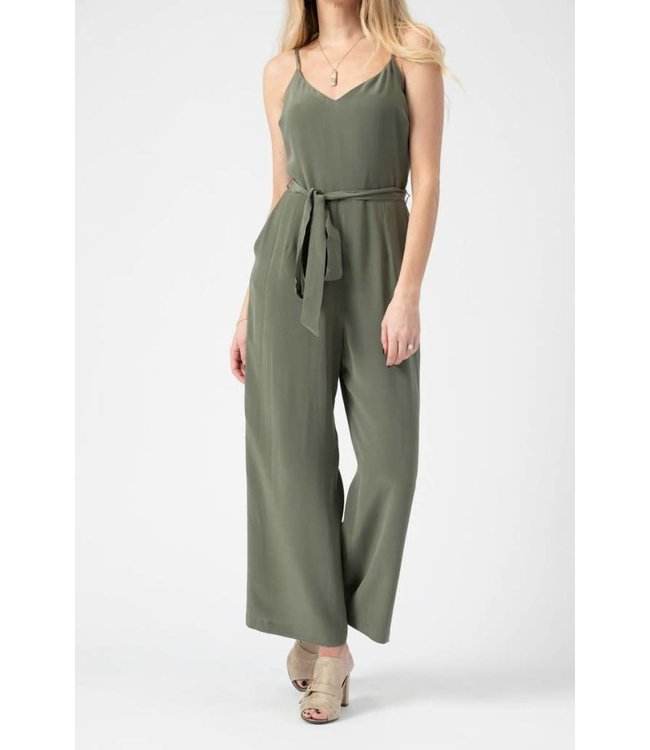 L'AGENCE L'AGENCE Jaelyn Jumpsuit-French Moss