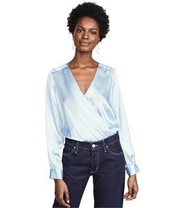 L'AGENCE Tasha Bodysuit-Sky Blue