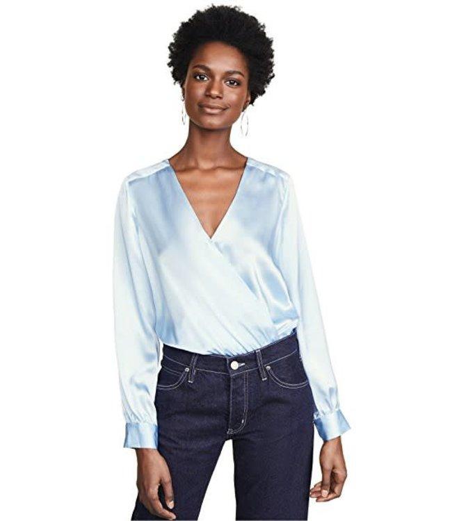 L'AGENCE L'AGENCE Tasha Bodysuit-Sky Blue