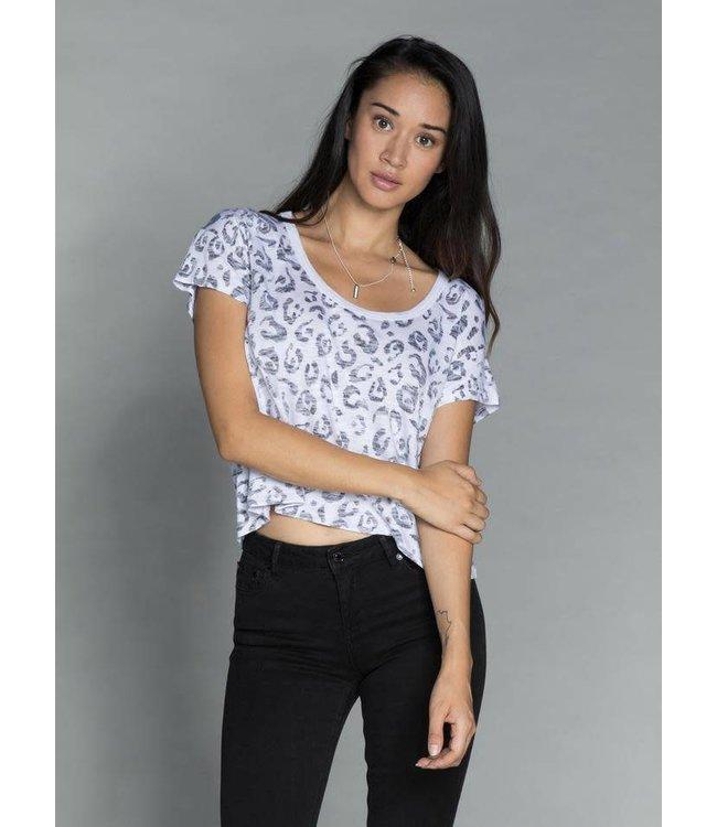 CHRLDR CHRLDR Leopard Box- T-Shirt