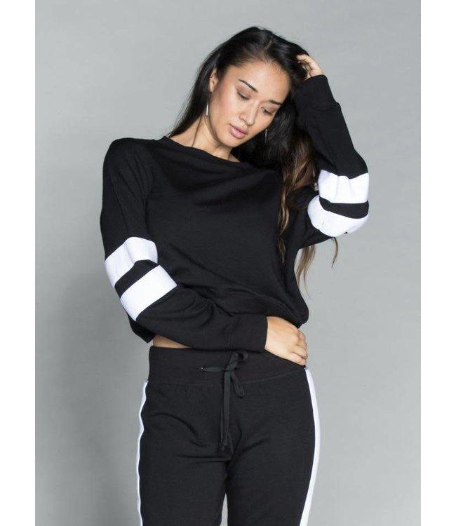 CHRLDR CHRLDR Sleeve Insert-Crossback Sweatshirt