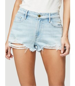 FRAME FRAME Le Cut Off Raw Edge Short-Hurrah