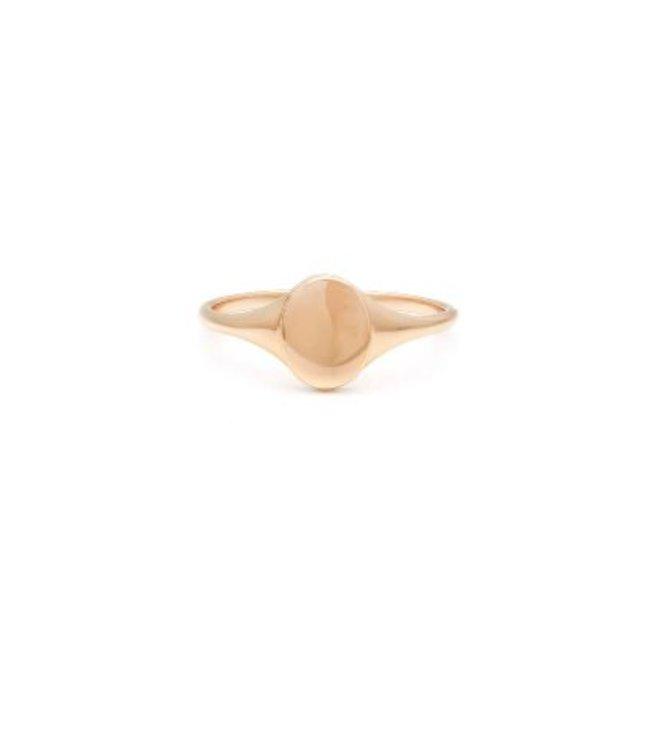 Melanie Auld Mini Signet Ring-14K Gold Vermeil