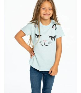 CHASER Chaser Vintage Crew Neck Tee-Kitty