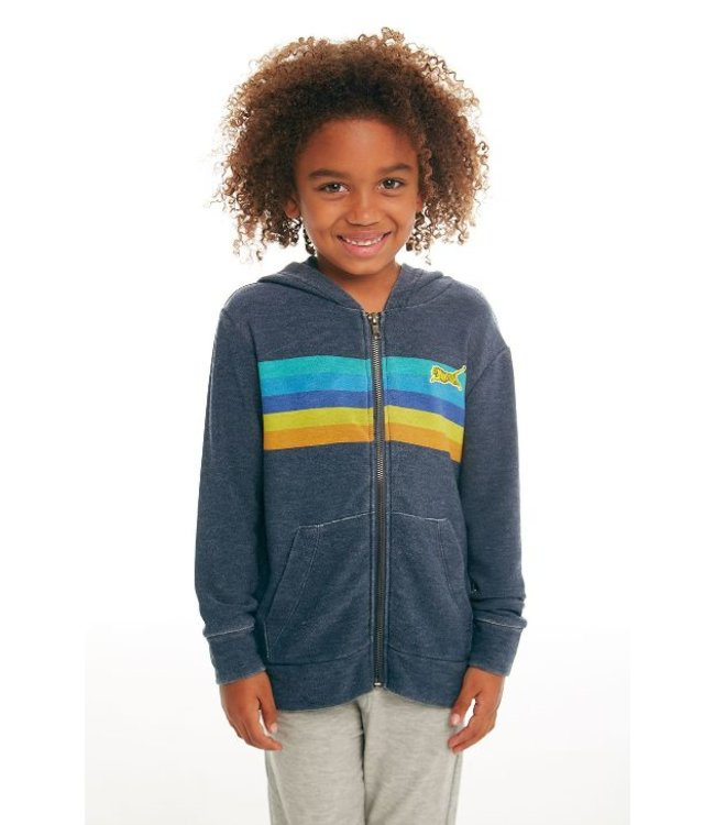 CHASER Chaser Cozy Knit Zip Hoodie-Avalon