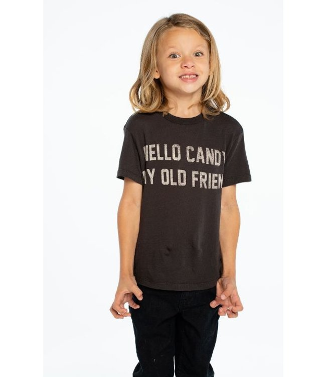 CHASER Chaser Cotton Tee-Hello Candy