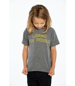 CHASER Chaser Triblend Crew Neck Tee-Trouble