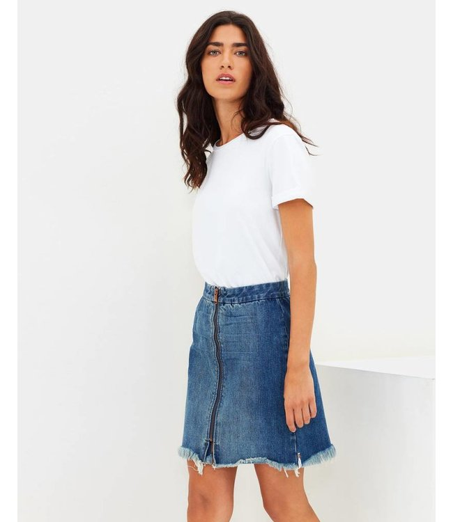 ONE X ONETEASPOON Vixen Denim Skirt