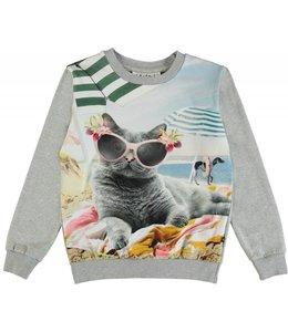 Molo Molo Regine Sweatshirt- Vacation Pets