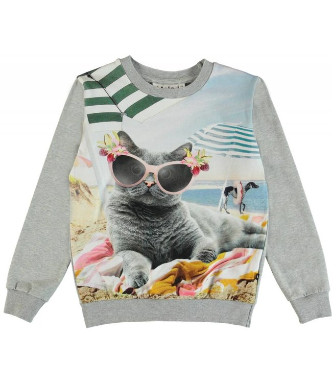 Molo Molo Regine Sweatshirt- Vacation Pets