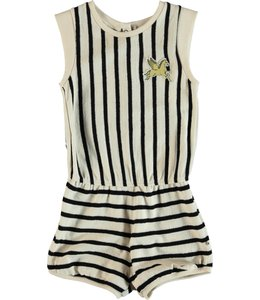 Molo Abigail Jumpsuit- Black Stripe