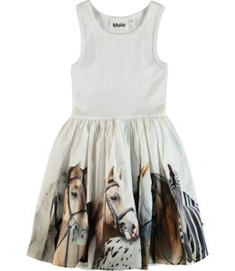 Molo Molo Cassandra Dress-Horse Stripe