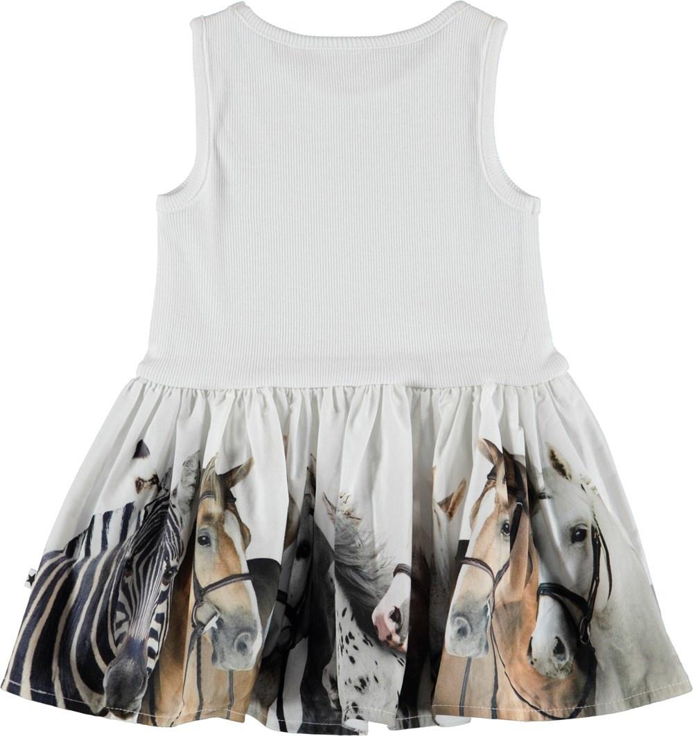 068d0585dd60 Molo Cordelia Dress- Horse Stripe - Refinery Clothing Co.