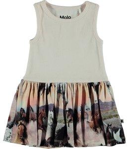 Molo Como Dress- Wild Horses