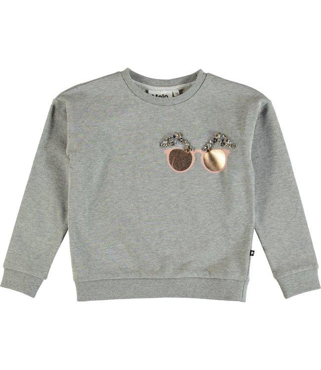 Molo Molo Maila Sweatshirt-Grey