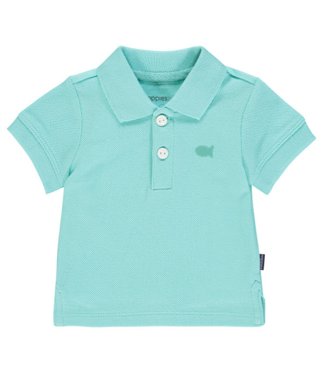 Noppies Noppies Polo- Aqua Splash