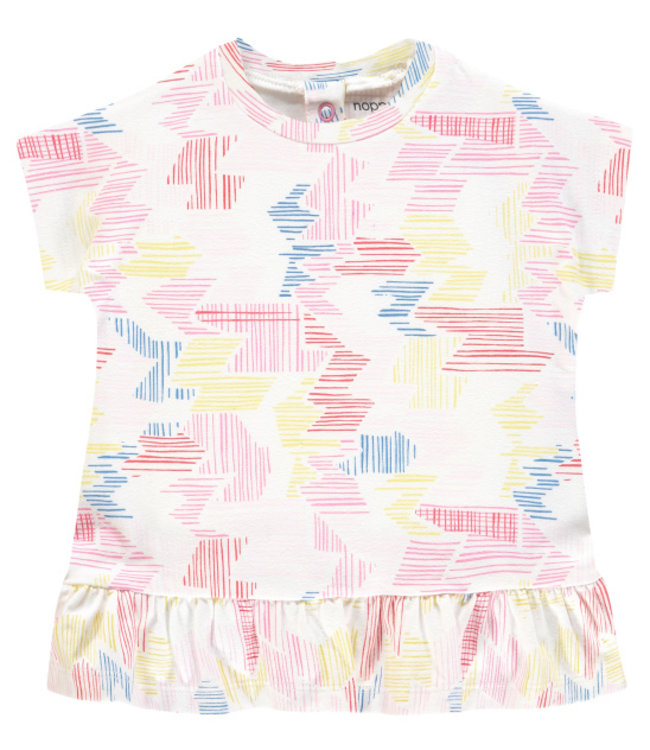 Noppies Noppies Rotonda Dress-Flamingo
