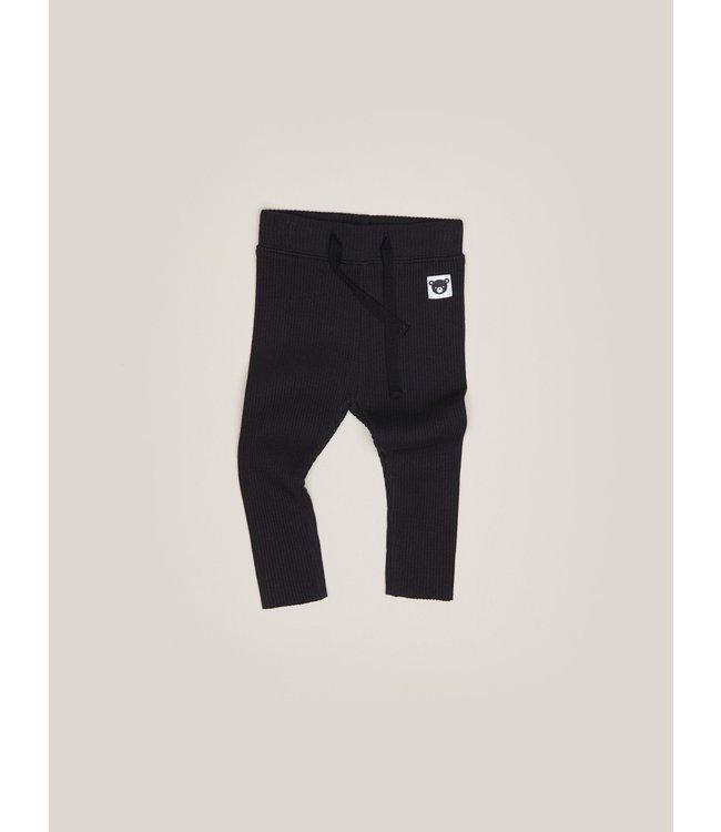 HUX BABY Rib Legging- Black