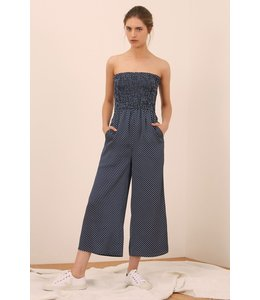 The Fifth Fountain Jumpsuit-Navy