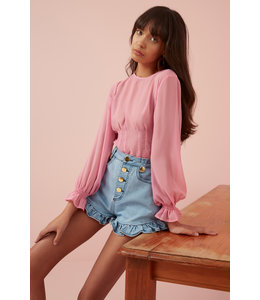 The Fifth Finders Keepers Bella Top-Pink