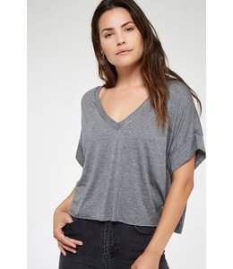 Project Social T Project Social T Wish Em Well Reversible Tee-Charcoal