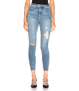 GRLFRND Kendall High Rise Skinny Crop Jean-Say You Will