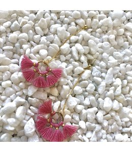 FINE Label FINE Label Nellie Earring-Watermelon Pink