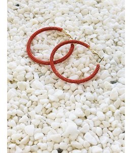 FINE Label Bali Hoop-Red