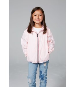O8 Lifestyle O8 Lifestyle Kids Full Zip Rain Jacket-Ballet Slipper